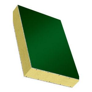 panel tipo sándwich alma de poliestireno expandido / cara de aluminio / para conducto