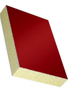 panel tipo sándwich alma de poliuretano / cara de PVC