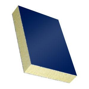 panel tipo sándwich alma de espuma / cara de aluminio / para conducto