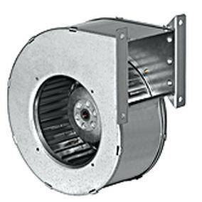 ventilador centrífugo / de aspiración / de entrada única / AC