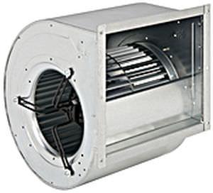 ventilador centrífugo / de aspiración / IP54 / de doble entrada