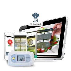 sistema de supervisión de temperatura / de medición / de alarma / en continuo