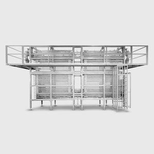 refrigerador de aire / para la industria panadera / enfriado por aire