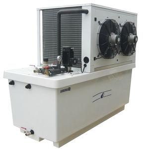 refrigerador de agua / portátil / con condensador de aire / de acero inoxidable