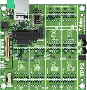 circuito impreso para controlador modular programable