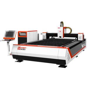 máquina de corte para metal / para acero / láser de fibra / de chapa