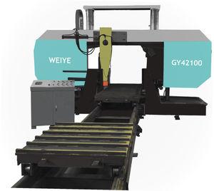 sierra de cinta / tronzadora / escuadradora / de puente