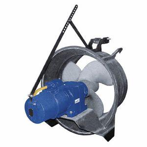 bomba para aguas residuales / eléctrica / sumergible / de hélice