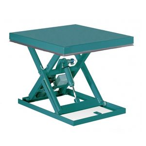 mesa elevadora de tijera