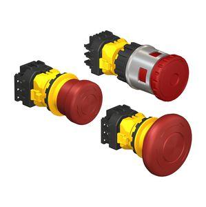 interruptor con cabeza fungiforme / unipolar / mecánico / acción momentánea