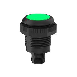 indicador luminoso roscado / al ras / IP67 / IP66