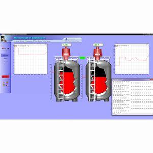 software análisis de datos / de supervisión / de base de datos / de mando de proceso