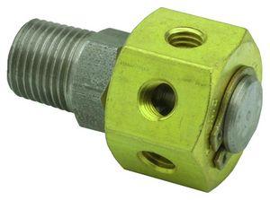 manifold de 6 vías / de metal / neumático