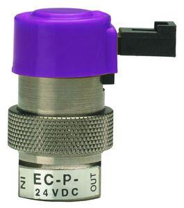 electroválvula de control directo / de 2 vías / aire / en línea