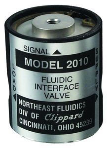 válvula para aire / normalmente cerrada / de baja presión / de 3 vías