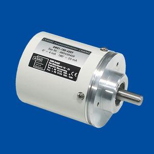 encoder de ángulo potenciométrico / con salida analógica / con brida sincro / IP67