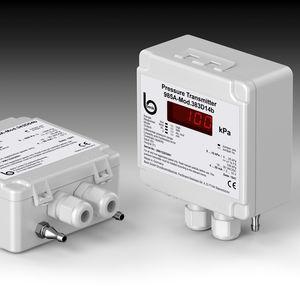 sensor de presión Modbus / diferencial / piezorresistivo / montaje en pared