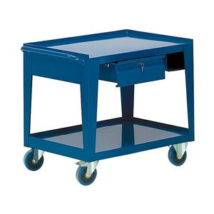 banco de trabajo de madera / monobloque / móvil / con cajones
