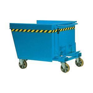 contenedor de residuos de metal