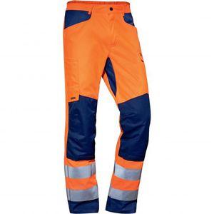 pantalón de trabajo / de alta visibilidad / de algodón / de poliéster