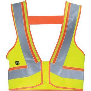 chaleco de trabajo / de alta visibilidad / de algodón / de poliéster