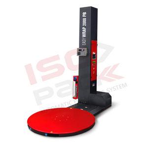 envolvedora con plataforma giratoria / semiautomática / para palés / de film estirable