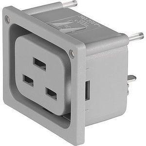 conector de alimentación eléctrica