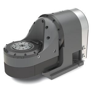 mesa rotativa accionada por motor / inclinable / de gran velocidad