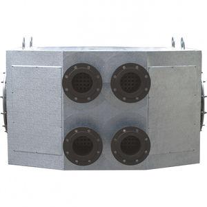 intercambiador de calor tubo-tubo