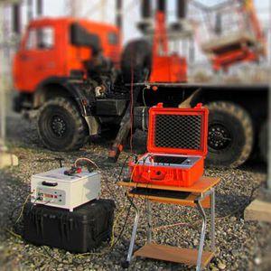 sistema de prueba de cables