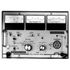 comprobador de aislamiento eléctrico / de continuidad / de corriente de fuga / de puesta a masa