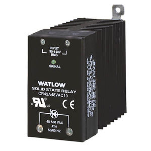 relé estático AC / con disipador térmico / compacto / en riel DIN