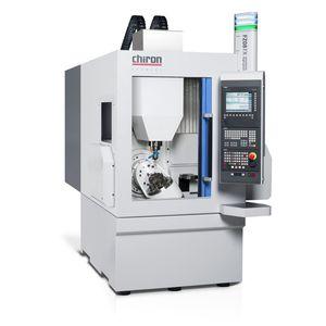 centro de mecanizado 5 ejes / vertical / con mesa rotativa / de alta precisión