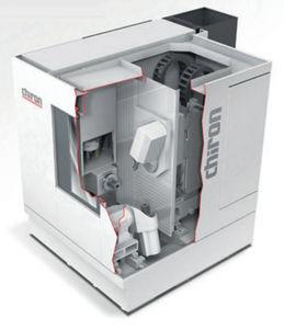 centro de torneado-fresado CNC / con husillo rotativo / 5 ejes / de alta precisión