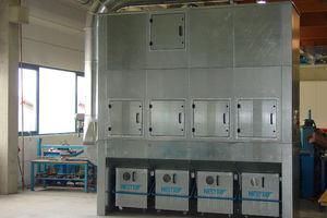 planta de filtracion de gravedad