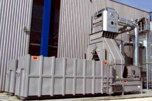 compactador de basura de plástico / para papel / estacionario / de reciclaje