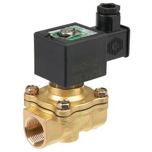 electroválvula de control asistido / de 2/2 vías / normalmente abierta / agua