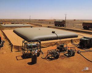 depósito para almacenamiento de hidrocarburo / de aceite / de combustible / de poliamida