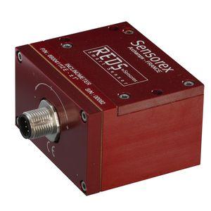 acelerómetro de eje único / industrial / con electrónica integrada / de bajas frecuencias