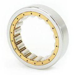 rodamiento de rodillos cilíndricos / radial / de una sola hilera / de acero