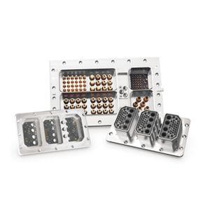 conector ARINC / de datos / óptico / twinaxial
