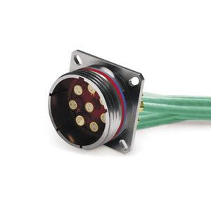 conector quadrax / de datos / audio/vídeo / twinaxial