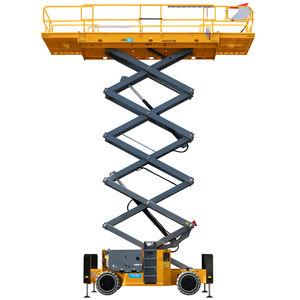 plataforma elevadora de tijera de ruedas