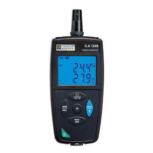 termo-higrómetro con indicador digital / con pantalla LED / de lectura directa / portátil