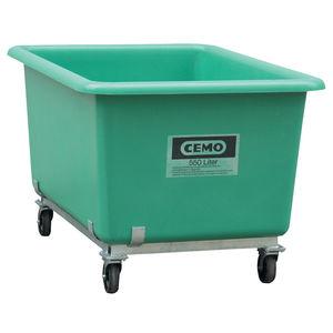 cajón de poliéster / de fibra de vidrio / de material compuesto / para almacenamiento