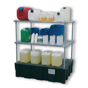 sistema de estanterías de taller / para barriles / con tablas / de acero