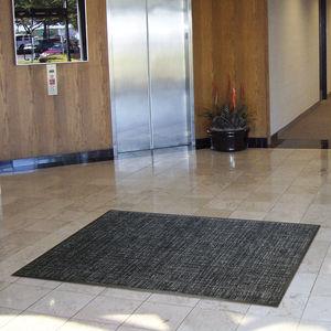 alfombra absorbente / antideslizante / antisuciedad / de limpieza