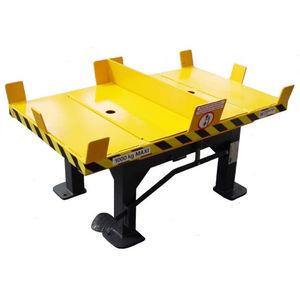 mesa giratoria manual