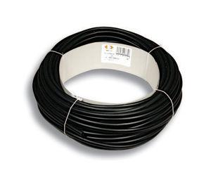 funda de protección térmica / tubular / para cables / de caucho