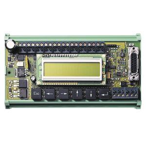interfaz de operador con teclado / empotrable / para máquina